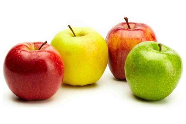 cuántas calorías tienen las manzanas