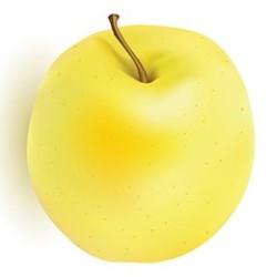 calorías manzana amarilla