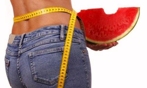 sandía perder peso