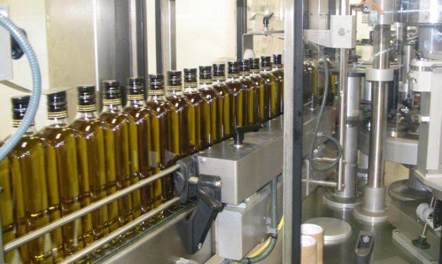 envasado y distribución aceite de oliva