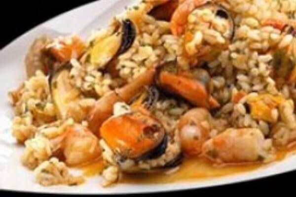 Receta arroz con mejillones y langostinos