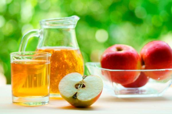 calorías del jugo de manzana