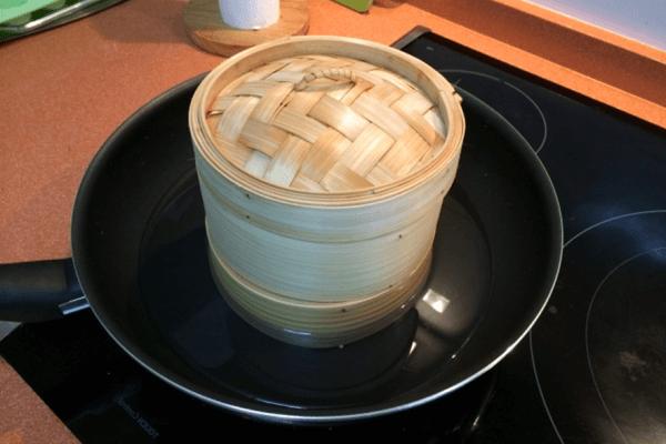 Vaporeras de bambú características