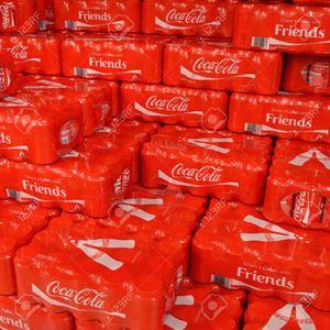Producción y envasado fábrica de Coca-cola