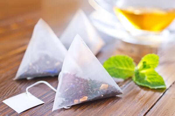 bolsitas de té piramidales características
