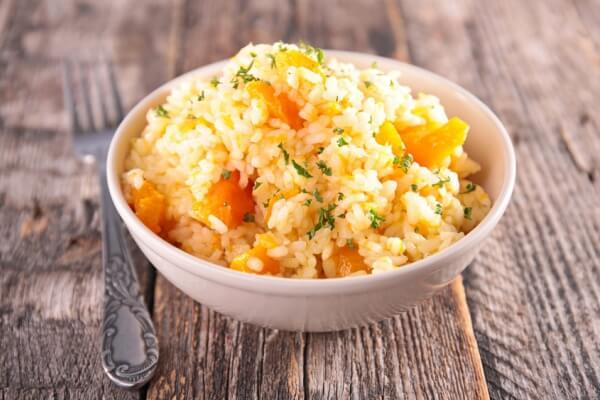 cómo hacer Risotto con zanahorias